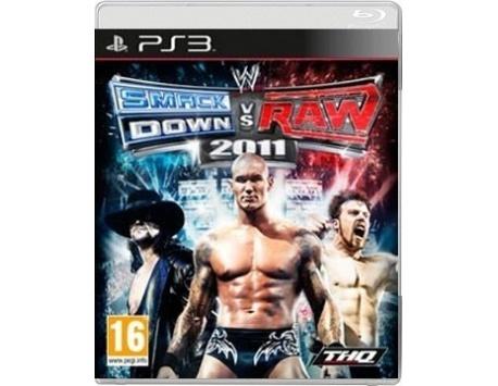 SMACKDOWN VS RAW 2011 PS3 (USADO)