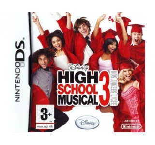 DISNEY HIGH SCOOL MUSICAL 3 DS (USADO)