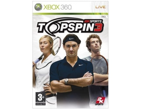 TOP SPIN 3 XBOX 360 (USADO)