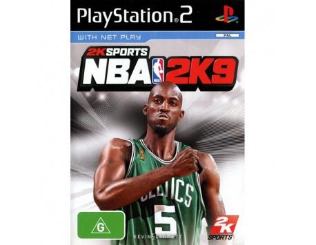 NBA 2K9 PS2 (USADO)