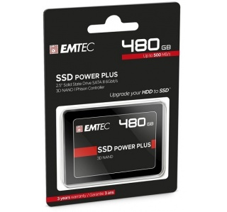 DISCO DURO SSD EMTEC X150 480GB SATA III 6GB/S