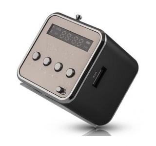RÁDIO FM C/ENT USB, MICRO USB, MP3 FOREVER