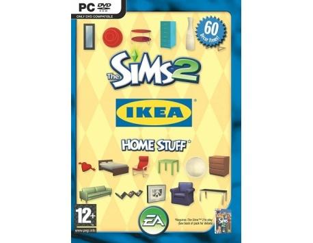 OS SIMS 2 CASA IKEA ACESSÓRIOS PC (USADO)