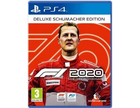 F1 2020 DELUXE SCHUMACHER EDITION PS4 (USADO)