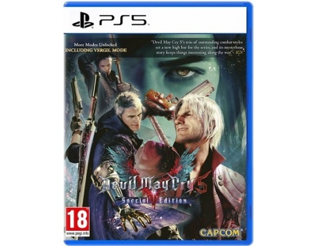 DEVIL MAY CRY 5 SPECIAL EDITION PS5 (USADO)