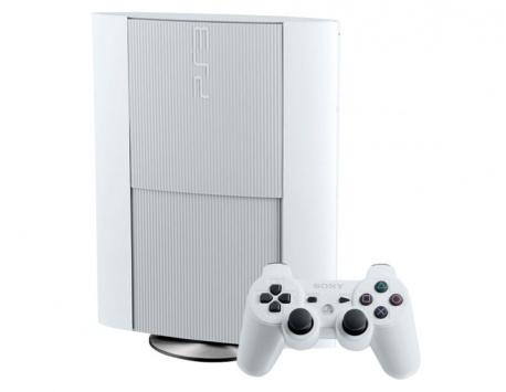 CONSOLA PS3 SUPER SLIM 500GB BRANCA (USADO)