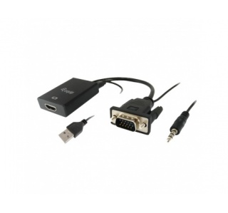 ADAPTADOR EQUIP VGA TO HDMI