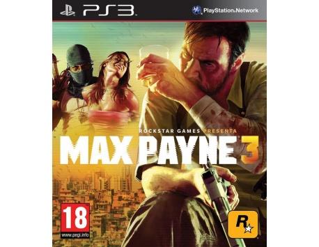 MAX PAYNE 3 PS3 (USADO)