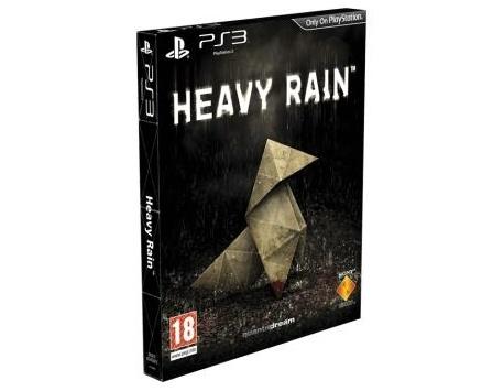 HEAVY RAIN PS3 - EDIÇÃO ESPECIAL CAIXA CARTÃO (USADO)
