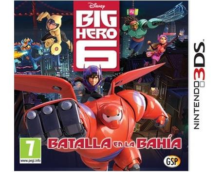BIG HERO 6: BATTLE IN THE BAY 3DS