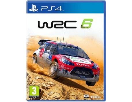 WRC 6 PS4 (USADO)