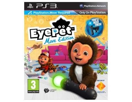 EYE PET MOVE EDITION PS3 (USADO)