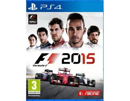 F1 2015 PS4 (USADO)