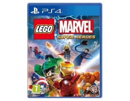 LEGO MARVEL SUPER HEROES PS4 (USADO)