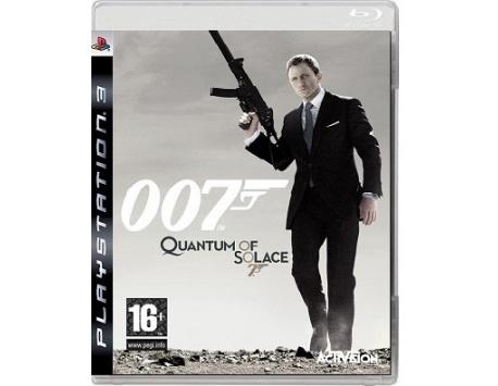 JAMES BOND 007 QUANTUM OF SOLACE PS3 (USADO)