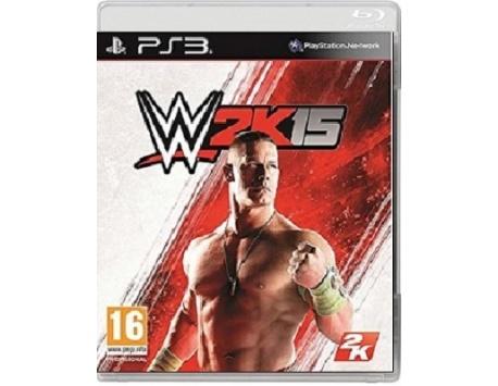 WWE 2K15 PS3 (USADO)