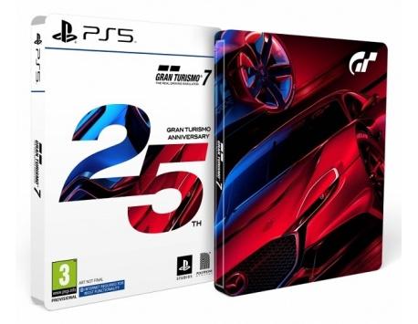GRAN TURISMO 7 EDIÇÃO 25 ANIVERSÁRIO PS4/PS5