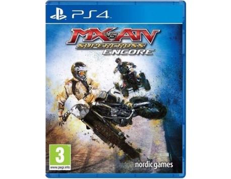 MX VS ATV SUPERCROSS ENCORE EDITION PS4