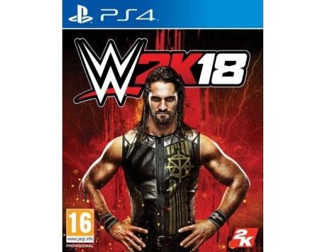 WWE 2K18 PS4 (USADO)