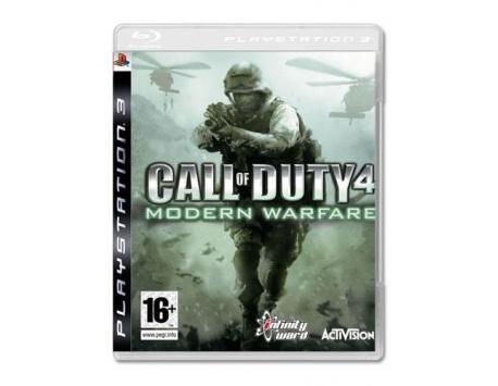 CALL OF DUTY 4 MODERN WARFARE PS3 (USADO)