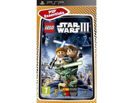 LEGO STAR WARS III PSP THE CLONE WARS (USADO)